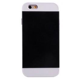 Coque Bicolor Silicone iPhone 6 Noir et Blanc