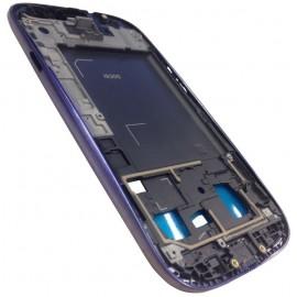 Châssis intermédiaire BLEU pour Samsung Galaxy S3