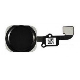 Nappe bouton home noir iPhone 6