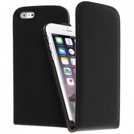 Etui en cuir noir iPhone 6 Plus / 6S Plus