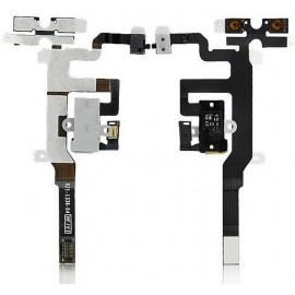 Nappe jack écouteur blanc iPhone 4S