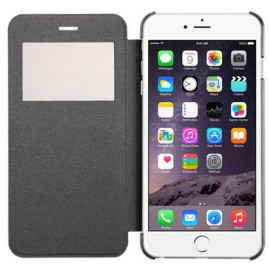 Etui Flip Cover Noir iPhone 6 Plus