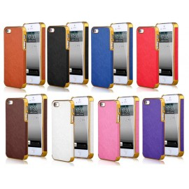 Coque rigide carbone iPhone 5/5S/SE