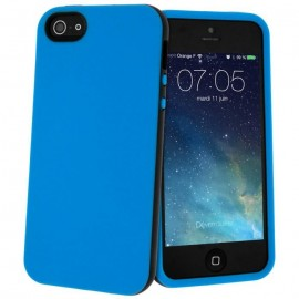 Coque silicone bicolore iPhone 4/4S