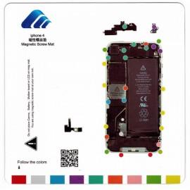 Patron vis magnétique iPhone 4