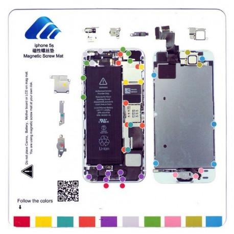 ecran complet iphone 5s cran lcd vitre tactile tout pour phone. Black Bedroom Furniture Sets. Home Design Ideas