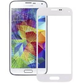 Vitre tactile seule Samsung Galaxy S5 Mini Blanc