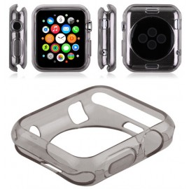 Coque silicone Gris Apple Watch 38mm