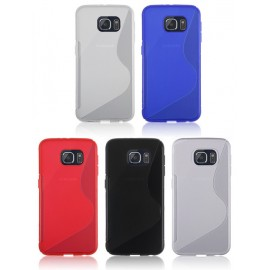 Coque silicone S line Samsung Galaxy S6