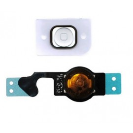 Bouton Home complet iPhone 5 Blanc