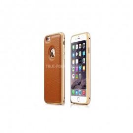Coque bumper haut de gamme iPhone 6/6s Marron