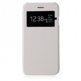Etui flip cover Samsung Galaxy A3 Blanc