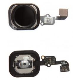 Nappe bouton home iPhone 6s / 6s Plus - Noir