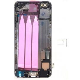 Coque arrière complète iPhone 6 Plus Noir